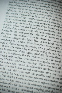 The Death of Ivan Ilyich (Leo Tolstoy)