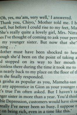 Memoirs of a Geisha (Arthur Golden)